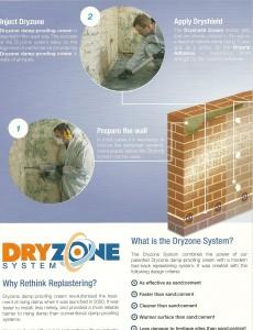 New plastering for damp